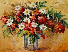 Tablou canvas Leonid Afremov - Wildflowers