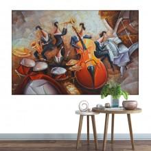 Tablou Canvas Muzicantii BRF40