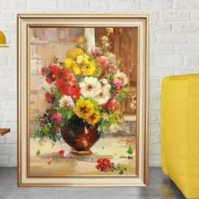 Tablou Canvas+Rama Vaza cu Flori TRD16