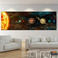 Tablou Canvas Sistemul Solar OUS39