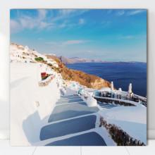 Tablou Canvas Vedere Santorini, Grecia GR38