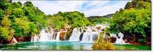 Tablou Cascada în Parcul Național Krka Croatia st1383