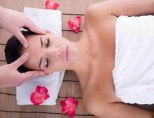 Tablou femeie la masaj spa 02