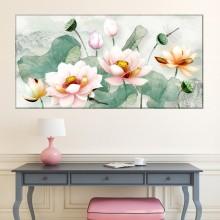 Tablou Flori de Lotus, Frumusete si Echilibru Spiritual OPO4