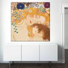 Tablou Gustav Klimt Mama si Copilul GKS29