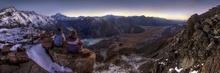 Tablou panoramic montan crb 01