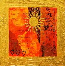 Tablou canvas abstract happy color 04