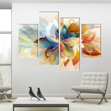 Multicanvas Modern Floral SFR56