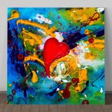 Tablou Canvas Dragoste de Culoare AFAS16