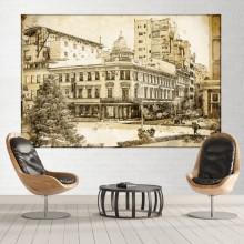 Tablou Romania Vintage, Casa Capsa RSP16