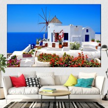Tablou Peisaj de Vis in Grecia GR28