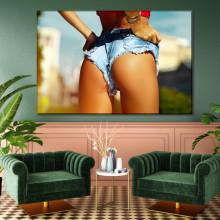Tablou Canvas Femeie cu Fund Sexy TNM23