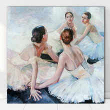 Tablou Canvas Balerine in Repaus FAB63