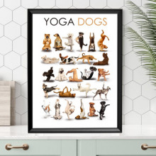 Poster + Rama Yoga Dogs AFE31