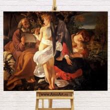 Reproducere Caravaggio, Odihna pe drumul spre Egipt, RBC1