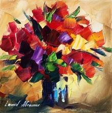 Reproducere Leonid Afremov - Buchet pentru iubita