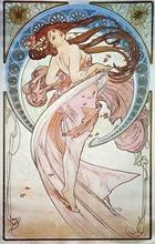 Tablou canvas Alphonse Mucha 020