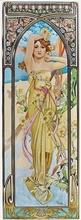 Tablou canvas Alphonse Mucha 028
