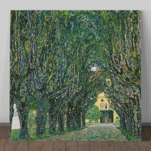 Tablou Canvas Gustav Klimt, Alee in Parc GSK23