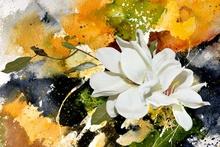 Tablou canvas modern floral 01