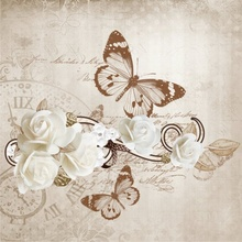 Tablou canvas modern floral 11