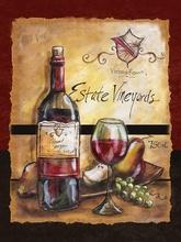 Tablou canvas modern vin 01