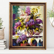 Tablou Canvas+Rama Parfum de Liliac FAB75