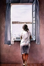 Tablou Dali - Person at the Window c.1925