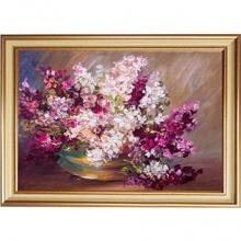 Tablou Inramat Vaza cu Flori de Primavara FAB64