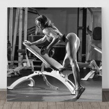 Tablou Model Fitness Feminin PFGT70
