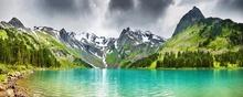 Tablou panoramic colectia lac & munte 01