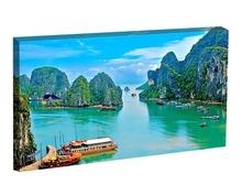 Tablou peisaj tropical Vietnam dpm120