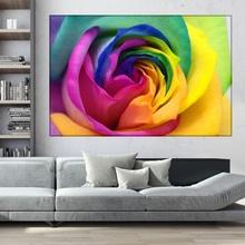 Tablou Trandafir Curcubeu ROS6