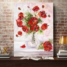 Tablou Decorativ Vaza cu Flori