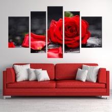 Multicanvas Trandafir Rosu Pasional