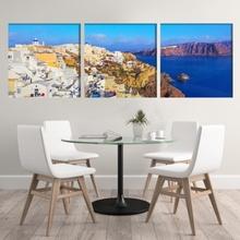 Multicanvas Grecia Vedere Panoramica