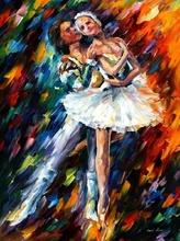 Reproducere Leonid Afremov - Dans clasic