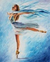 Reproducere Leonid Afremov - Dansul norilor