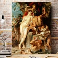 Reproducere Peter Paul Rubens, Uniunea pamantului cu apa, RBC3