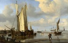 Reproducere pictura londoneza- barci 01