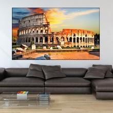 Tablou Canvas Colosseum la Apus