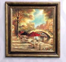 Tablou canvas cu rama maro B006M 3