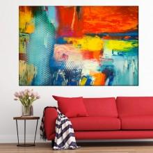 Tablou Canvas Culori Abstracte CTB7