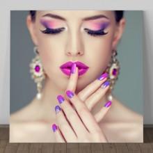 Tablou Canvas Frumusete Violet GFF4
