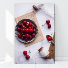 Tablou Canvas Tavita cu Cirese Coapte GFL101
