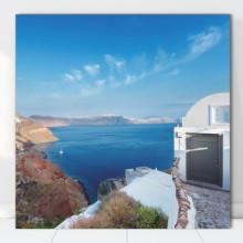 Tablou Canvas Vedere Santorini, Grecia GR37