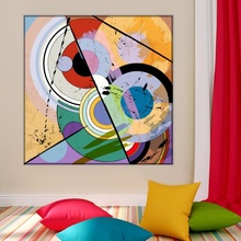 Tablou Cercuri si Forme Abstracte abg22
