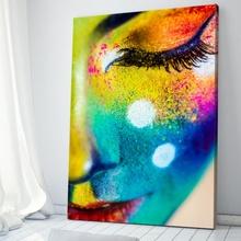 Tablou Color Face Art