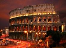 Tablou Coloseum noaptea 02