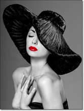 Tablou Glamour Red Lips